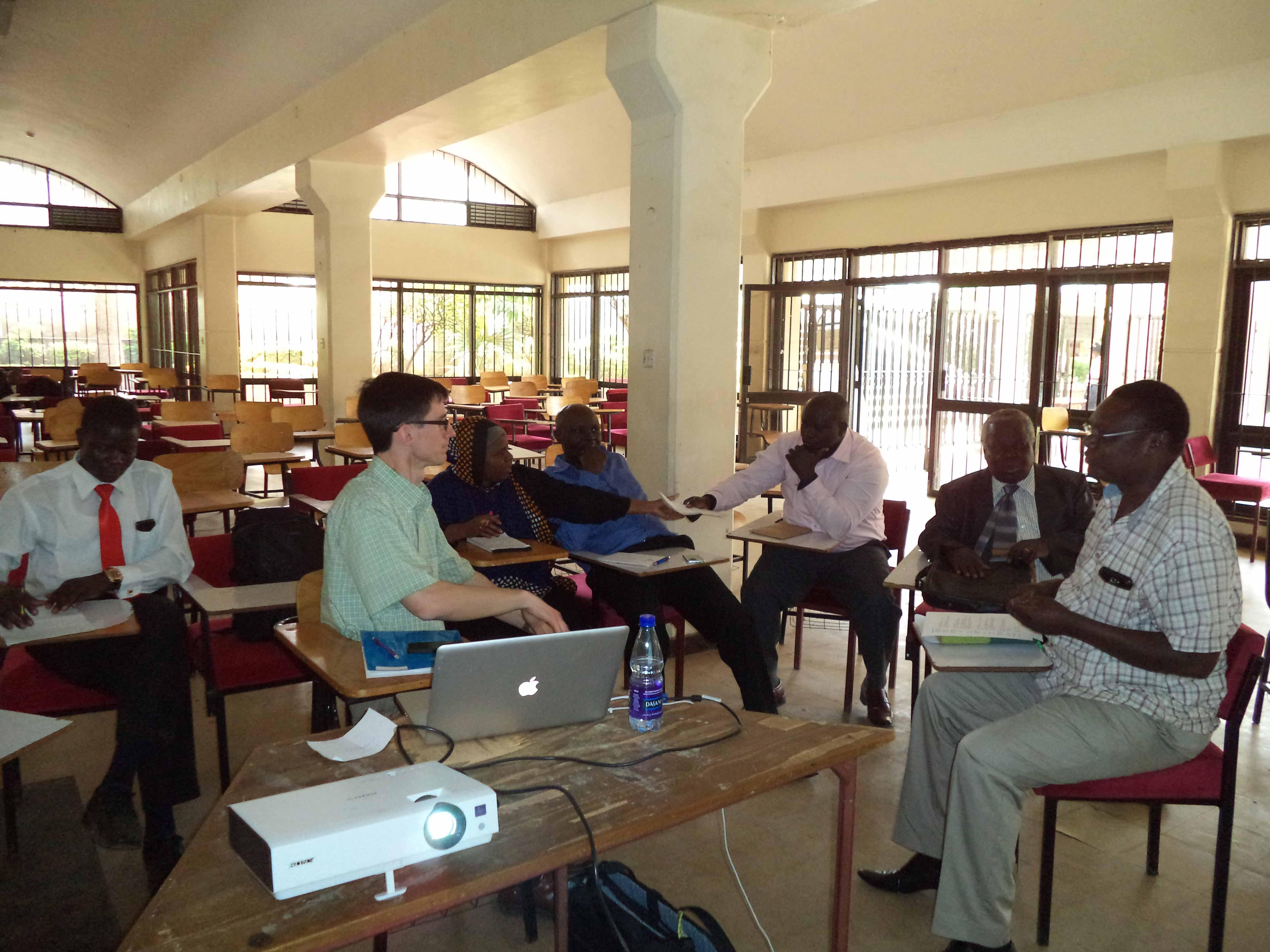 Maseno University in Kisumu